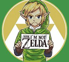 Link is not Zelda by TwitchMerch