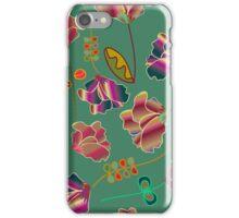 Vintage Flower Pattern iPhone Case/Skin