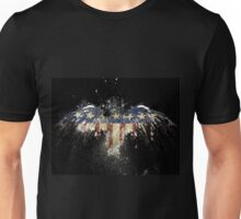 Freedom eagle  rainbow america Unisex T-Shirt