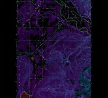 USGS Topo Map Washington State WA Lawrence 241957 1952 24000 Inverted by wetdryvac