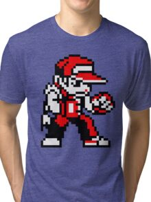 Terry Bogard (sprite) Tri-blend T-Shirt