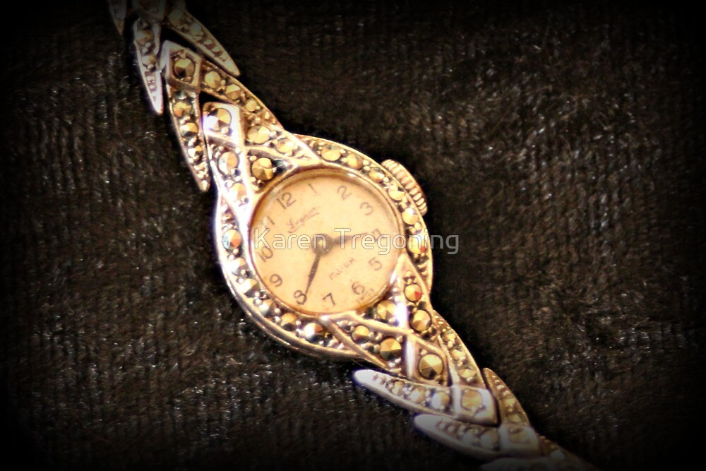 Mum's Old Watch by Karen Tregoning