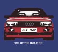 Fire Up the Quattro! by sophiedoodle