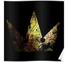 Kingdom Hearts Crown grunge universe Poster