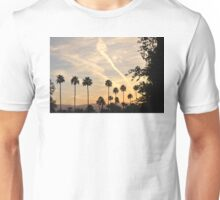 WHITE STREAKS IN A BLUE SKY Unisex T-Shirt