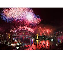 Sydney on Fire Photographic Print
