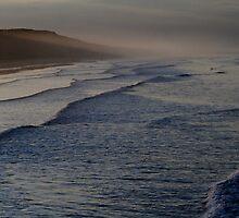 October Twilight : Saltburn on Sea beach. by Ian Alex Blease
