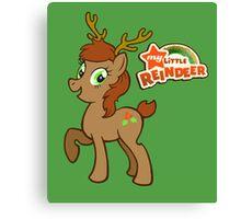 My Little Christmas Reindeer Canvas Print