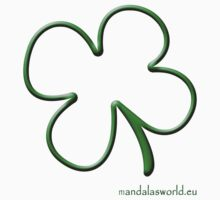 Celtic Shamrock Green by Mandala's World