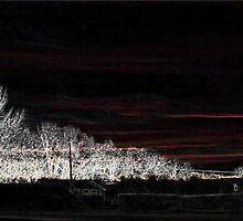 Black Friday, White Edge Art 1 by dge357