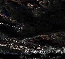 Black Friday, Whit Edging Art 2 by dge357