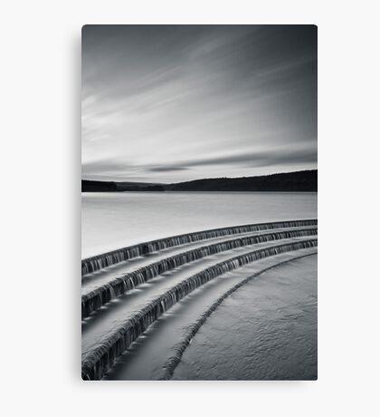 Fewston Monochrome Canvas Print
