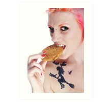 She Stole the Cookie from the Cookie Jar!!! Art Print