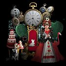 Alice in Wonderland Queen of Hearts Re-imagined by Sally McLean