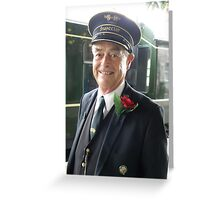 Smiling Inspector! Greeting Card