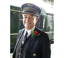 Smiling Inspector! Photographic Print