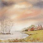 Oasthouses  by Neil Jones