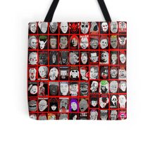 Faces of Horror Collage art Tote Bag