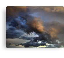 Cloud Saturday Metal Print