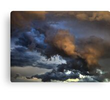 Cloud Saturday Canvas Print