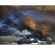 Cloud Saturday Photographic Print