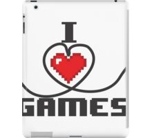 I Love Games iPad Case/Skin