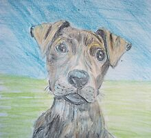 Puppy Portrait by GEORGE SANDERSON