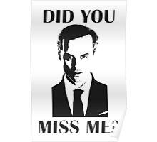 Moriarty, Did You Miss Me? Poster
