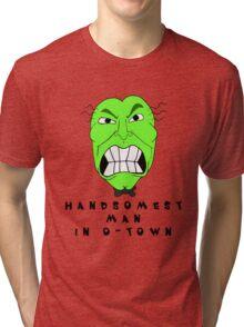Handsome Ed Bighead Tri-blend T-Shirt