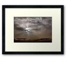 Monahans White Sand Hills ~ Desert Sand Storm Framed Print