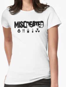 Miscreated Hoodie Black Text (Official) Womens Fitted T-Shirt