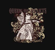 Queen of Hearts Carnivale Style Womens Fitted T-Shirt