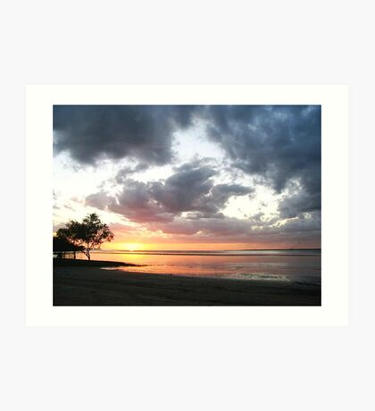 Weipa Cape York Sunset Art Print