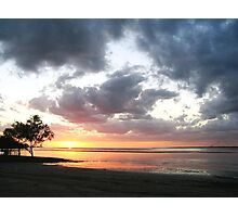 Weipa Cape York Sunset Photographic Print