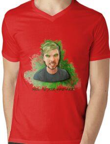 Show me your game-face Mens V-Neck T-Shirt