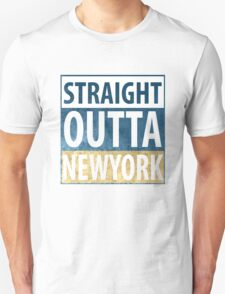 Straight Outta Newyork T-Shirt