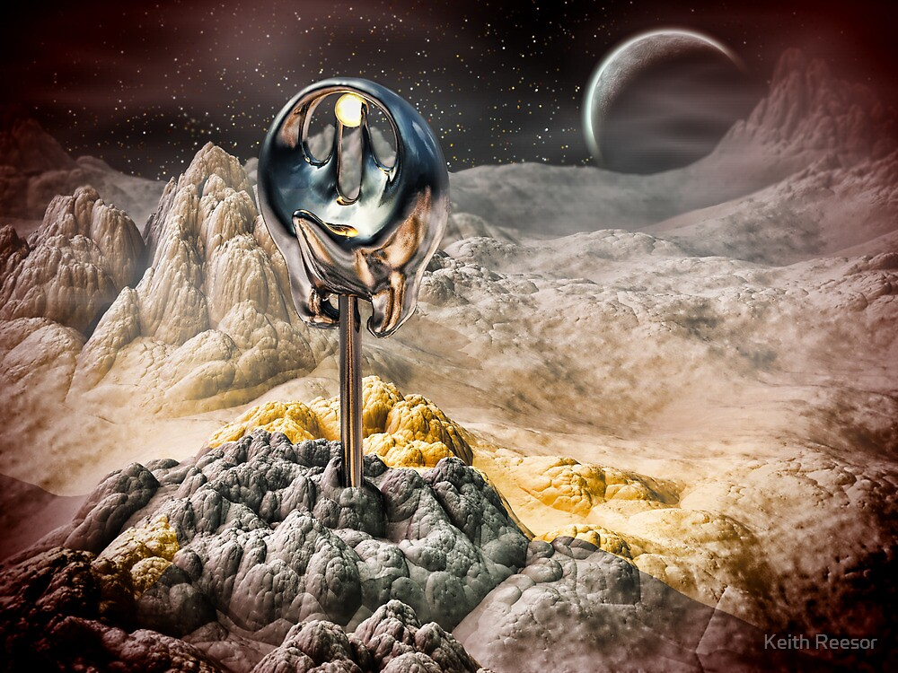 Alien Artifact by Keith Reesor