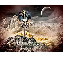 Alien Artifact Photographic Print