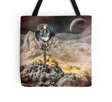 Alien Artifact Tote Bag