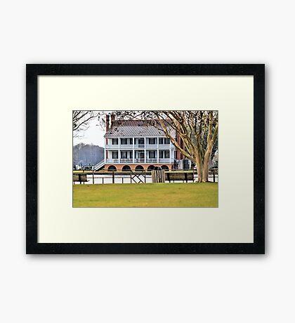 Barker House Framed Print
