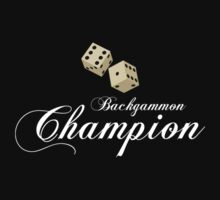 Backgammon Champion by Eleni dreamel