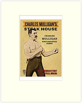 Charles Mulligan's Steak House by BasqueInk