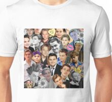 Leonardo DiCaprio Collage Unisex T-Shirt