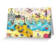 Lucy's Submarine Greeting Card