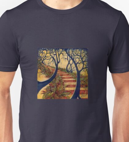 """The Stairs to Now"" from the series ""Tales from the Unknown Book"" Unisex T-Shirt"