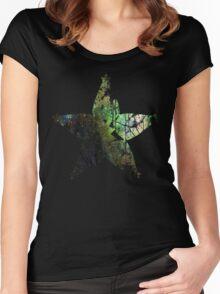 Kingdom Hearts Wayfinder grunge universe Women's Fitted Scoop T-Shirt