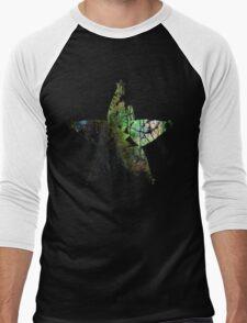 Kingdom Hearts Wayfinder grunge universe Men's Baseball ¾ T-Shirt