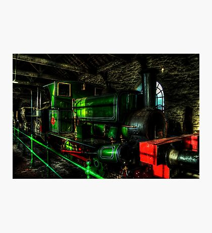 Lewin No. 18 - Engine Shed Photographic Print