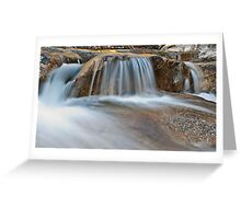Water Veil Greeting Card
