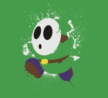 Splattery Shy Guy Style 2 by thedailyrobot